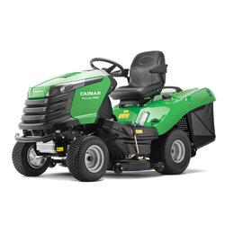 Мини-тракторы - Газонокосильная машина Caiman Comodo 4WD (20 л.с.), 0