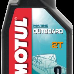 Масла, технические жидкости и химия - Масло моторное MOTUL (Мотюль) MOTUL OUTBOARD 2T (1л), 0