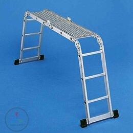 """Лестницы и элементы лестниц - Помост алюминиевый рифленый для Z300 2""""3 + 2""""4…, 0"""