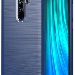 Чехлы - Чехол для Xiaomi Redmi Note 8 Pro цвет Blue (синий), серия Carbon от Caseport, 0