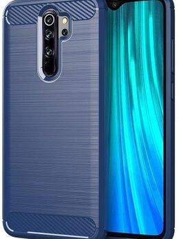 Чехлы - Чехол для Xiaomi Redmi Note 8 Pro цвет Blue…, 0