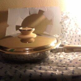 Сковороды и сотейники - Сковорода   2 л  диаметр 24 см. технология URA   от Цептер, 0