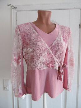 Блузки и кофточки - Кофточка розовая р-р 46, 0