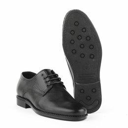Туфли - Полуботинки мужские кожаные форменные ДОФ 8097, …, 0