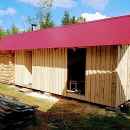 Готовые строения - Сруб 3*3 метра с выносами 6-метров под веранду., 0