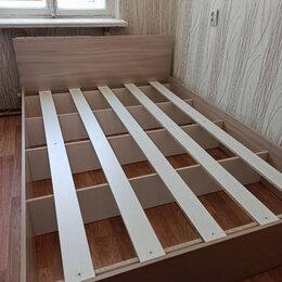 Кровати - Кровать полутороспальная с матрасом новая бесплатно доставка, 0