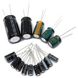 Запчасти к аудио- и видеотехнике - Электролитические конденсаторы, 0