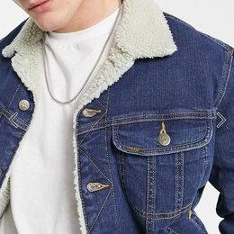 Куртки - Куртка джинсовая мужская  Lee Sherpa Jacket (Storm rider) XL, 0