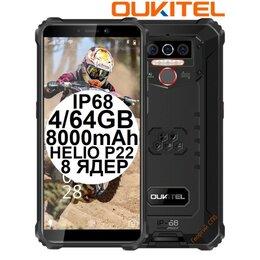 Мобильные телефоны - НОВЫЕ Oukitel WP5 Pro Black IP68 4/64GB 8000mAh, 0