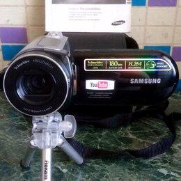 Видеокамеры - Samsung VP-MX20 - цифровая флеш-видеокамера. Сумка, паспорт, кабели. , 0
