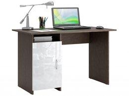 Компьютерные и письменные столы - Стол письменный Милан-8 глянец, 0