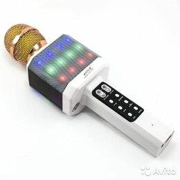 Микрофоны - Караоке-микрофон WSTER WS-1828 белый, 0