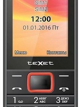 Мобильные телефоны - Новый Телефон teXet TM-214, 0