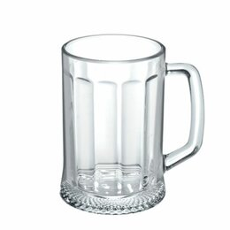 Кружки, блюдца и пары - Кружка 500 мл, для пива, ЛАДЬЯ, 8 шт/уп, ОСЗ, 0