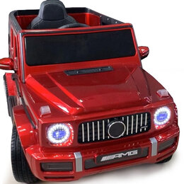 Электромобили - Детский электромобиль Mercedes-Benz G63 4х4 mini (V8) YEH1523 красный краска, 0