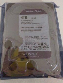 Внутренние жесткие диски - Жёсткий диск WD HDD 4Тб Purple SATA WD40purz/x, 0