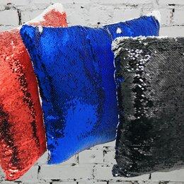 Постельное белье - Наволочка 40х40см С ПАЙЕТКАМИ для печати, 0