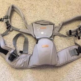 Рюкзаки и сумки-кенгуру - Эрго рюкзак серый , 0