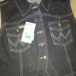 Жилеты - Новый женский джинсовый оригинальный жилет 34 размера США, 0