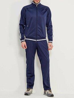 Спортивные костюмы - Мужские спортивные костюмы темно-синие эластик…, 0