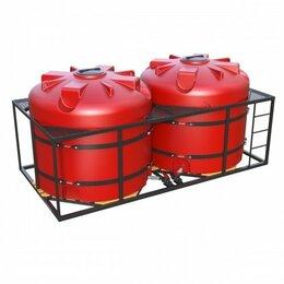 Спецтехника и навесное оборудование - Кассета ( 5000 литров x 2 шт.) для транспортировки и хранения КАС, 0