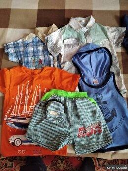 Рубашки - Вещи в садик на мальчика 2-4 лет (пакетом), 0