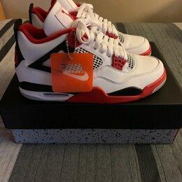 Кроссовки и кеды - Nike Air Jordan 4 ( Fire Red ), 0