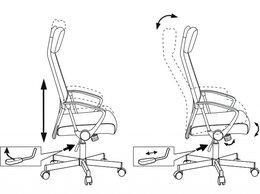 Компьютерные кресла - Кресло Бюрократ T-995HOME, 0