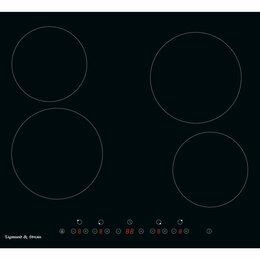 Плиты и варочные панели - Zigmund & Shtain CN 41.6 B стеклокерамическая…, 0