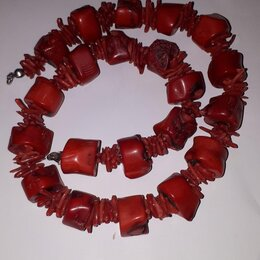 Колье и бусы - Коралловое ожерелье, 0