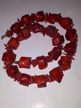 Колье - Коралловое ожерелье, 0