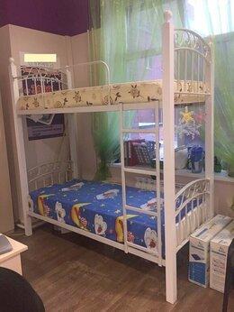 Кроватки - двухярусная детская кованая кровать, 0