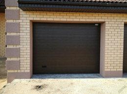 Заборы и ворота - Секционные гаражные ворота, бытовые, с ручным и…, 0