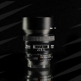 Объективы - Nikon AF 85 mm 1.8D / 1486, 0