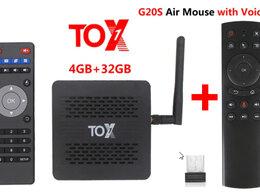 ТВ-приставки и медиаплееры - Тв приставка ugoos TOX1 4/32 + G20S мышка новая…, 0