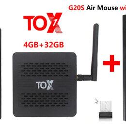 ТВ-приставки и медиаплееры - Тв приставка ugoos TOX1 4/32 + G20S мышка новая настроенная, 0