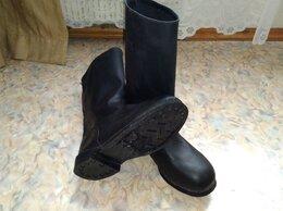Обувь - Сапоги кирзовые СССР, 0