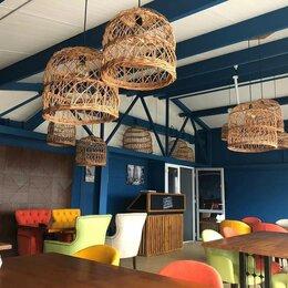 Люстры и потолочные светильники - Абажур плетеный из лозы, ротанга купить, 0