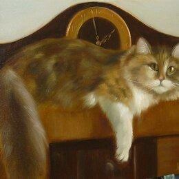 """Картины, постеры, гобелены, панно - Картина """"Моя любимая кошка"""", 0"""