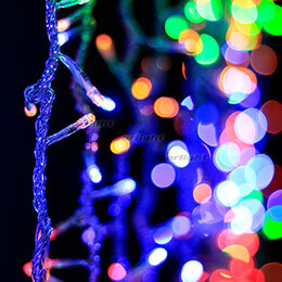 Новогодний декор и аксессуары - Гирлянда ARL-FALL-3000x2000-300LED 220V RGB…, 0