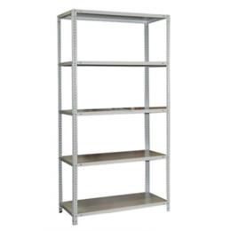 Мебель для учреждений - Стеллаж металлический СМ-750 180х100х50 см, 5…, 0