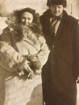 Вещи знаменитостей и автографы - Фото с автографом Л. А. Лужиной 1976 нод, 0