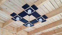 Люстры и потолочные светильники - Люстра ручной работы %, 0