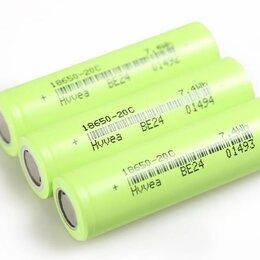Батарейки - Аккумуляторы 18650 высокотоковые тяговые, 0