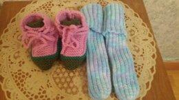Носки - Тапки вязаные, 0