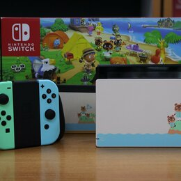 Игровые приставки - Nintendo Switch Animal Crossing MOD HAC-001 - Б.У, 0