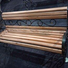 Скамейки - Скамья садовая кованя в наличии, 0