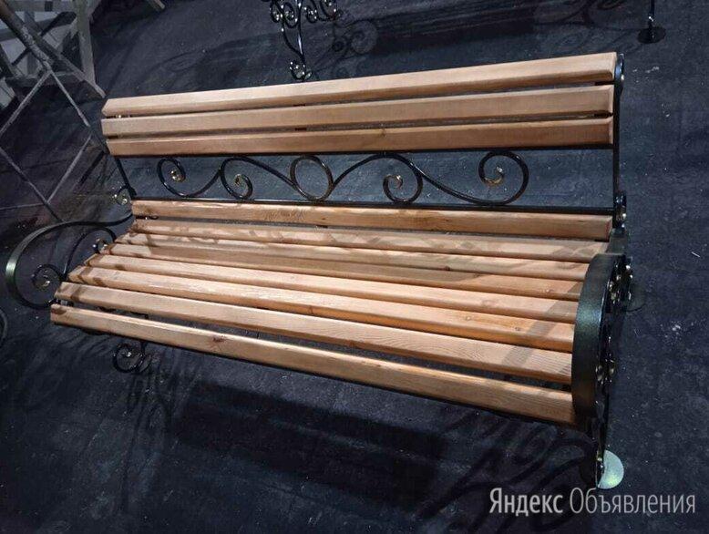 Скамья садовая кованя в наличии по цене 15000₽ - Скамейки, фото 0
