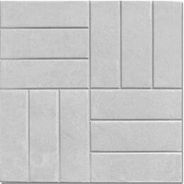 Тротуарная плитка, бордюр - Тротуарная плитка «12 кирпичей»  500х500х50, 0