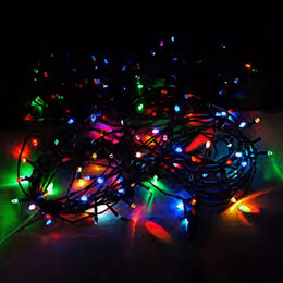 Ёлочные украшения - Гирлянда 500 ламп, 0